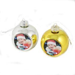 Karácsonyfadísz, arany, ezüst